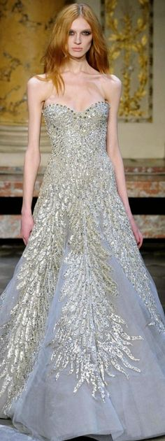 Zuhair Murad Haute Couture Spring Summer 2010 Collection gray