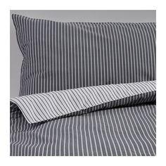 RÖDNARV Bettwäscheset, 2-teilig IKEA Die Satinwebart verleiht der Baumwolle seidigen Glanz und hohe Schmiegsamkeit.