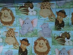 Jungle Babies elasticized crib sheet has a by MyEclecticTreasure, $35.00