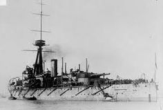 HMS Colossus - one of the last 12 in battleships built for the Royal Navy, she was closest of Jellicoe's capital units to the German battle fleet at Jutland in 1916, and thus was one of the few battleships in the main battle line to incur any casualties (6 wounded).