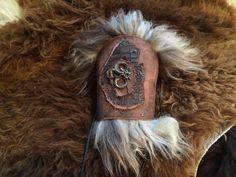 Dragon Leather bracer longFur. Medievalelvenlotrherr von Elbengard