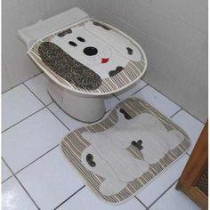 Jogo De Banheiro Patchwork