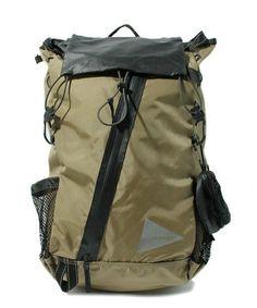 And Wander / 30L backpack Beige