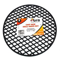 Aura Outdoor Products Cast Iron Grill Grate for 22 Inch Weber Kettle Grill for sale online Cast Iron Grill, Cast Iron Cooking, Barrel Grill, Weber Bbq, Weber Grills, Weber Kettle, Perfect Grill, Grill Parts, Stainless Steel Rod