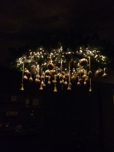 Kerstkrans plafond