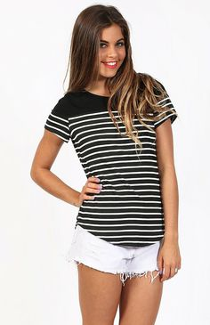 On The Road Tee $39 http://bb.com.au/collections/new/products/on-the-road-tee#