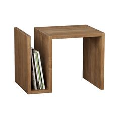 Shop Entu Side Table. Each table is designed using only plantation-grown solid teak certified sustainable by the Forest Stewardship Council (FSC), a nonprofit organization that encourages responsible management of the world's forests.