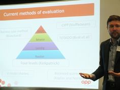 Kirkpatrick's theory of learning and training evaluation - OPP's BAPT 2014 presentation in blog form!