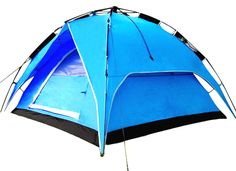 """Camping Tents :""""CHO OYU Outdoor Double Layer Tent :camping Tent :2-3 Persons Tent :no Need Construction :blue"""" -- Find out more details by clicking the image"""