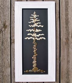 Rock Art Tree Nature transformed into a work of by TheRockArtShop