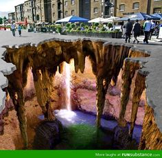 The most amazing 3D street art you will ever see.