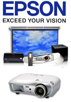 Available at Clear Audio Design in Charleston, WV. Epson projectors