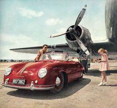 Porsche 356 & Douglas DC-3