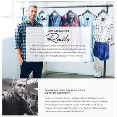Jeff Abrams in Cusp RAILS @rails_la Instagram photos   Websta