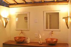 Beautifull bathroom with a garden... Península de Maraú - BA