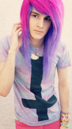vayne xheart - long hair man