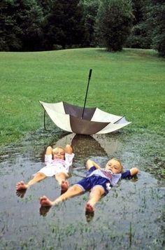 Let them be kids - Ways to Make the Most of Rainy Days with Your Kids - Photos