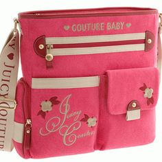 Moms, here's your chance to splurge a little. These designer diaper bags are the quality that you love from your favorite designers without sacrificing the functionality of your go-to diaper bag. Cute Diaper Bags, Best Diaper Bag, Baby Couture, Juicy Couture, Stroller Bag, Mini Messenger Bag, Woodland Baby, Baby Love, Cool Designs