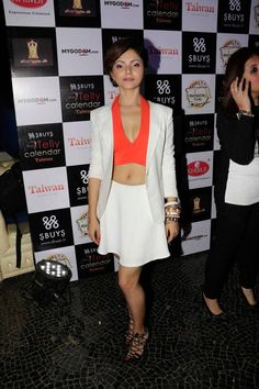Chhoti Bahu lead Rubina Dilaik looks hot at the launch of Indian Telly Calendar. #Bollywood #Fashion #Style #Beauty #Hot #Sexy
