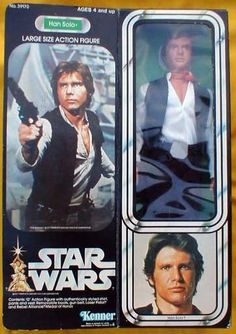 Kenner Star Wars Large Size Action Figure - Han Solo