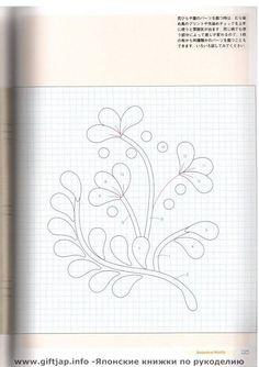 Все мы любим смотреть фото японских рукоделий - в них масса идей для вдохновения, по шитью и рукоделию.  Очередная подборка - пэчворк, цветы...