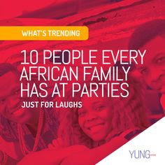 Families are like fruit salads. They are made up of different people with different characters, all of whom play a special role in making family events memorable. Here are ten people most African families have. Read the post on our website - LINK IN BIO.  #african #africa #family #families #people #relationships #parties #sellout #baby #ghost #dance #dancer #chef #comedian #historian #takeaway #socialmedia #social #laugh #fun #jokes #aunty #uncle #cousin #mum #dad #ghana #accra #yungghana