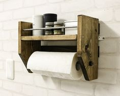 手作りキッチンペーパーホルダーラック!豊富なDIYアイデアをご紹介【後編】|LIMIA (リミア)