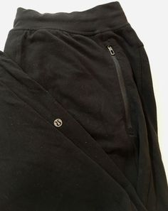 2cadf08050 Men's Lululemon Drawstring Waist Black Stretch Pants Size Large | eBay