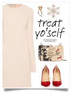 """""""It's Time to Treat Yo'self!"""" by frechelibelle ❤ liked on Polyvore featuring STELLA McCARTNEY, Valentino, Christian Louboutin and John Lewis"""
