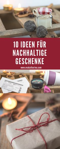 10 nachhaltige (Weihnachts-)Geschenke You want to gift someone and still protect the environment? Here are 10 ideas for sustainable Christmas gifts for you. Top 5 Christmas Gifts, Xmas, Holiday, Diy 2019, Diy Gifts For Mom, Diy Lotion, Diy Presents, Kids Cards, Candle Jars