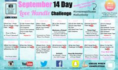 LSF Sept Challenge Cal Love Sweat Fitness, You Fitness, Fitness Diet, 30 Day Challenge, Workout Challenge, Workout Plans, Love Handles Challenge, Essential Oils Guide, Healthy Tips