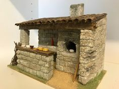 Christmas Nativity, Christmas Crafts, Christmas Decorations, Fairy Houses, Village Houses, Clay Projects, Projects To Try, Spanish Courtyard, Plaster Crafts