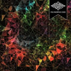 The Algorithm - Polymorphic Code A dazzling mashup between electronica (dubstep, techno and breakcore) and metal (death and djent). Let's go to the club to headbang, ladies and gentlemen! Post Metal, Beautiful Cover, Album Design, Arte Pop, Life Design, Dubstep, Death Metal, Electronic Music, Things That Bounce