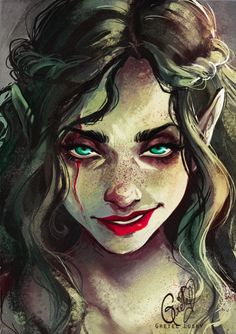 He was air I was water He'd help them breathe While I'd pull them under ~c.m GRETEL LUSKY http://gretlusky.deviantart.com/art/Poisoned-Apple-203528760