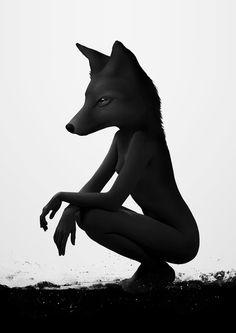 The Silent Wild Art Print by Ruben Ireland (LOVE!)