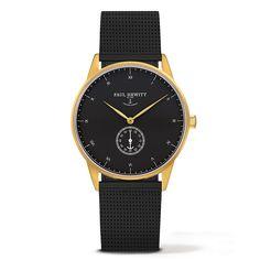 Zegarek PAUL HEWITT Signature Line Watch MARK I Black Sea Metal Watchstrap Black 38mm