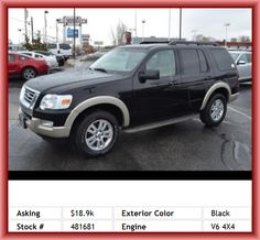 2009 Ford Explorer Eddie Bauer SUV Fuel Consumption: City: 13 Mpg, Tachometer, Digital Audio Input, Auto-Dimming Mirrors, Speed Sensitive Audio Volume Control, Auto Express Down Window, Front And Rear Reading Lights