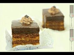 Amandine reteta de cofetarie - Adygio Kitchen - YouTube Food Cakes, Homemade Cakes, Cake Recipes, Cooking Recipes, Fondant, Baking, Desserts, Mascarpone, Romanian Recipes