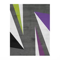 The 1980s called...they said they're pissed because they didn't have this perfect rug back in the day. By Second Studio - Supernova Universe Rug $1,140