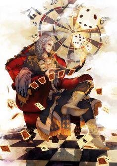 final fantasy 6   Tumblr- Setzer - The man of luck