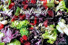 Kaikkea kaalista! – Paleokeittiön viimeinen kaaliviikko /// Elokuussa Paleokeittiössä vietellään kaaliviikkoja! Kaali on hyvä, edullinen ja monipuolinen kasvis, josta syntyy helposti niin maukkaita keittoja ja kevyitä salaatteja kuin ruokaisia uuni- ja pann…