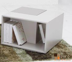 Mesa lateral para sala / Decoración / Diseño interior.  www.bodegademuebles.com
