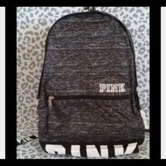 ISO PINK VS GREY BACKPACK!!!!!! PLEASE HELP IM LOOKING FOR THIS EXACT BACKPACK THANK YOUUU ❣❣❣ PINK Victoria's Secret Bags Backpacks