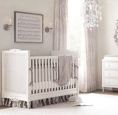 Antique Sheet Music in a frame - Hush Little Baby
