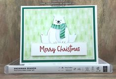 Stamped Christmas Cards, Homemade Christmas Cards, Stampin Up Christmas, Christmas In July, Christmas Snowman, Holiday Cards, Christmas Crafts, Winter Cards, Card Making Inspiration