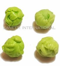 Set of 4 Dollhouse Miniature Cabbages * Doll Mini Food Lettuce Tiny Vegetables