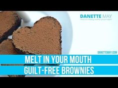 Melt In Your Mouth Guilt-Free Brownies - YouTube