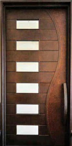 Teak wood doors main door designs pinterest wood for Main door interior design