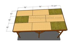 This step by step diy woodworking project is about how to build a flat roof carport. Learn how to make a carport with a flat roof out of wood. Diy Carport, Carport Kits, Carport Plans, Woodworking Joints, Woodworking Projects Diy, Woodworking Plans, Wood Projects, Roofing Tools, Roofing Felt