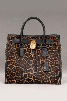 Michael Kors Haircalf Tote in Cheetah. In love!